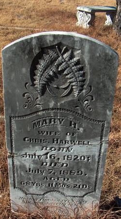 Mary H. <I>Inman</I> Harwell
