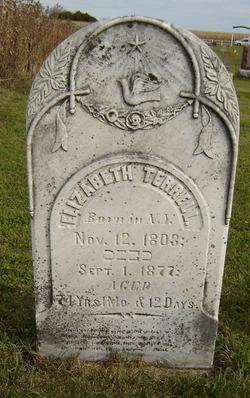 "Elizabeth E. ""Betsy"" <I>Lang</I> Terrill"