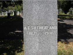 Alexander T Sutherland