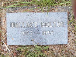 "Wallace F ""Wally"" Bolton"