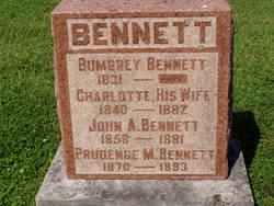 Charlotte <I>Butler</I> Bennett