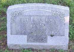 Ruth <I>Hamilton</I> Aaron