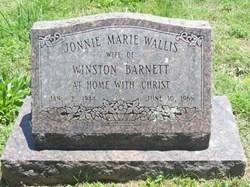 Jonnie Marie <I>Wallis</I> Barnett