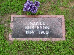 Marie Edna <I>Parnell</I> Burleson