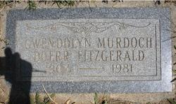 Gwendolyn Murdock <I>Doerr</I> Fitzgerald
