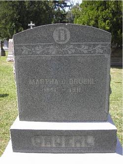 Martha D <I>Wilson</I> Druehl