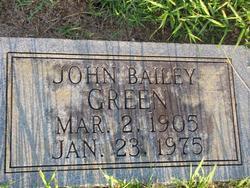 John Bailey Green