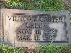 Victory <I>Carter</I> Green