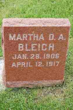 Martha D.A. Bleich