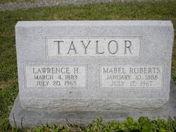 Mabel Arbutus <I>Roberts</I> Taylor