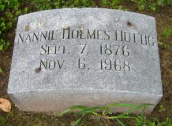 Nannie Eulah <I>Holmes</I> Huttig