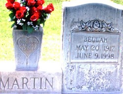 Beulah <I>Franklin</I> Martin