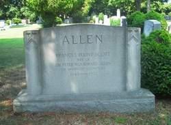 Frances Blunt <I>Scott</I> Allen
