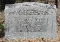 Fannie Mahalie <I>Smith</I> Bush