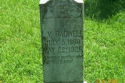 """Luvina V. """"Liew"""" <I>Williams</I> Bagwell"""