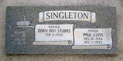Paul Lynn Singleton