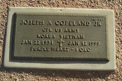 Joseph A Copeland, Jr
