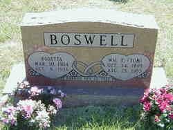 Rosetta <I>Hensley</I> Boswell