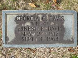 Georgia Gladys <I>McMahan</I> Davis