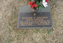 Corp Richard Douglas Wellman