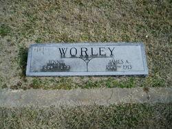 Mary Jane <I>Rogers</I> Worley