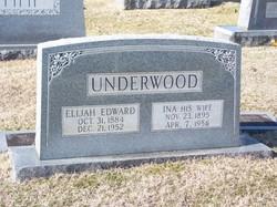 Ina <I>Spradlin</I> Underwood