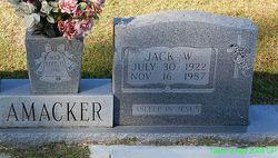 """Jackson W """"Jack"""" Amacker"""