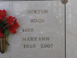 Mary Ann <I>Bullington</I> Burton
