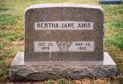 Bertha Jane Amis