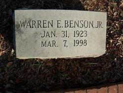 Warren Edgar Benson, Jr