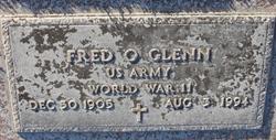 Fred Orfield Glenn