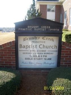 Brushy Creek Primitive Baptist Church Cemetery