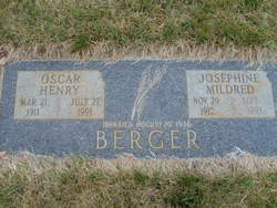 Josephine M. <I>Stucky</I> Berger