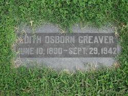 Edith <I>Osborn</I> Greaver