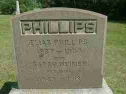Sarah Jane <I>Weimer</I> Phillips