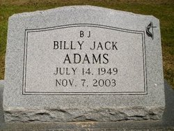"Billy Jack ""B.J."" Adams"