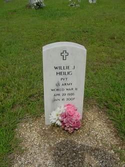 Willie J Heilig