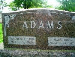 Mabel <I>Dixon</I> Adams