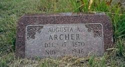 Augusta A <I>Skiles</I> Archer