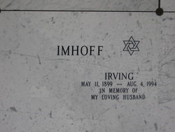 Irving Imhoff