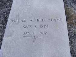 William Alfred Adams