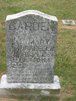 """Mary Isabella """"Belle"""" Barden"""