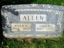 Ellen A <I>Schultz</I> Allen