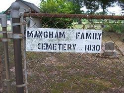 Mangham Family Cemetery