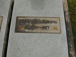 Pvt Hamlin Lewis Alfriend