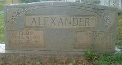 Gilmer Alexander