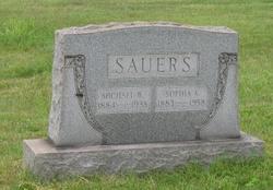 Sophia A <I>Ehle</I> Sauers