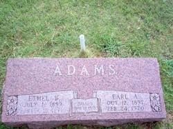 Ethel Burzella <I>Kelsoe</I> Adams