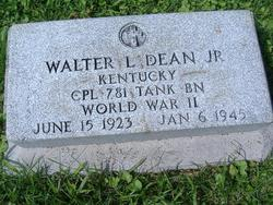 Corp Walter L. Dean