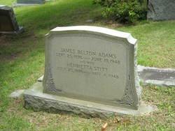 Henrietta <I>Stitt</I> Adams
